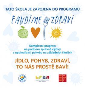 Logo projektu Fandíme zdraví