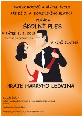 Plakát - Školní ples