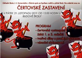 Plakát - Čertovské zastavení